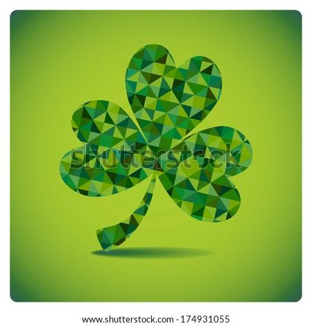 St Patrick's day shamrock