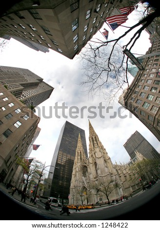 St. Patricks Cathedral  - manhattan - new york