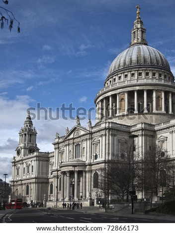 St. Paul's Cathedral from the south