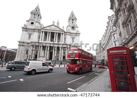 St. Paul's London Stock foto ©