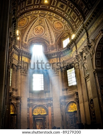 St. Peter's Basilica, The Vatican, Italy