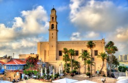 St. Peter's Church in Tel Aviv-Jaffa, Israel