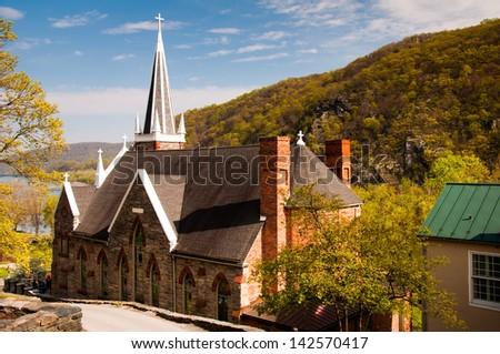St. Peter's Roman Catholic Church, Harper's Ferry, West Virginia.