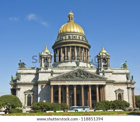 St. Petersburg, Russia, cathedral of St. Issak (Isaakievskiy).