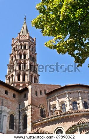 St Sernin Basilic in Toulouse