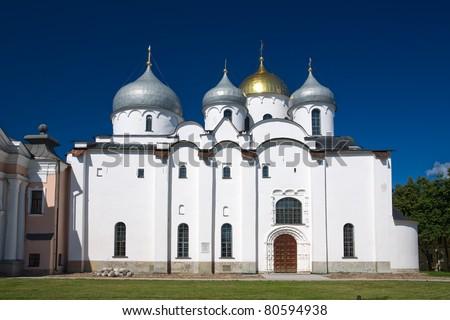 St. Sophia Cathedral. Kremlin Detinets. Veliky Novgorod. Russia