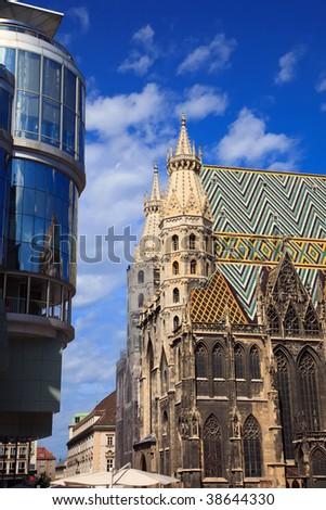 Najlepše Evropske destinacije Stock-photo-st-stephan-cathedral-in-vienna-austria-38644330