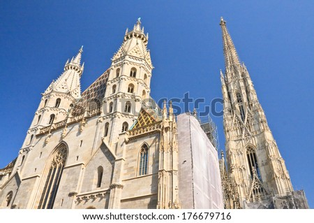 st. stephen's cathedral in...
