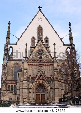 St. Thomas Church, Leipzig (Germany)