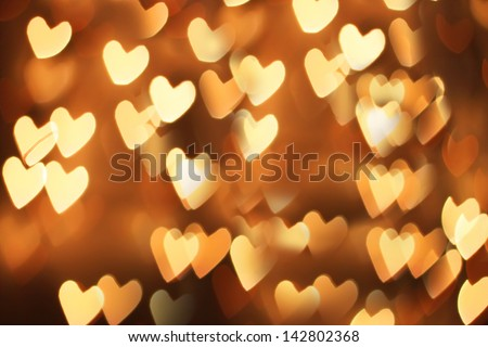 St Valentine's day greeting card with hearts stock photo
