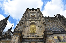 St. Vitus Cathedral in the Prague castle