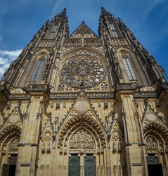 St Vitus church in Prague, Czech Republic