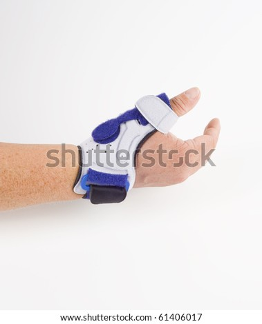stabilizing orthosis, thumb support