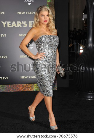 "Stacey ""Fergie"" Ferguson at the world premiere of her new movie ""New Year's Eve"" at Grauman's Chinese Theatre, Hollywood. December 5, 2011  Los Angeles, CA Picture: Paul Smith / Featureflash"