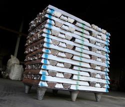Stack of Aluminum ingots