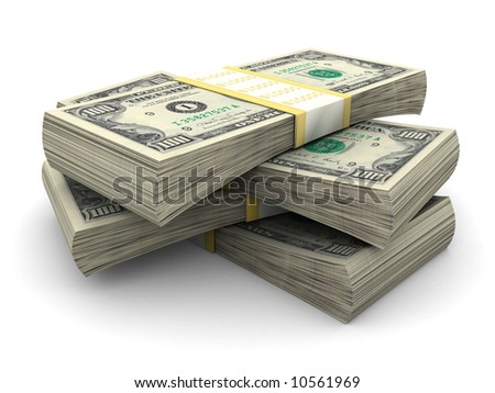 Stack of $100 bills