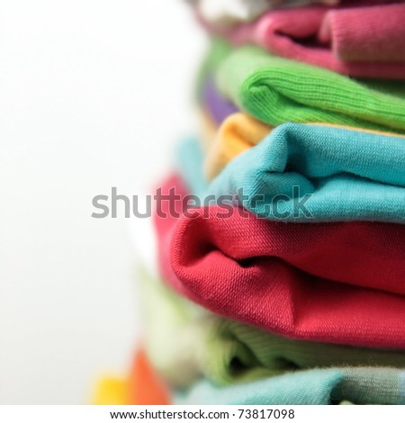 stack of cloth