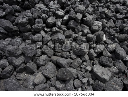 stack of coal