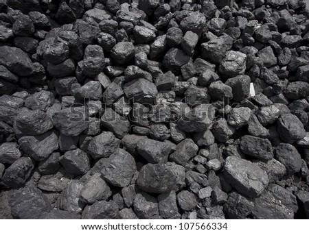 stack of coal
