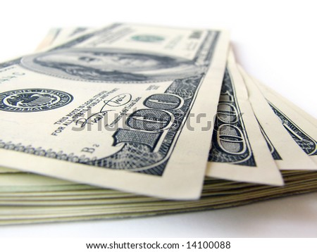 stack of dollars bills