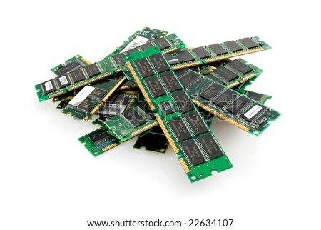 Stack of memory modules