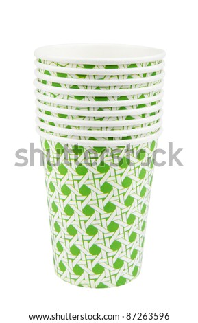 Stack of Paper Cups