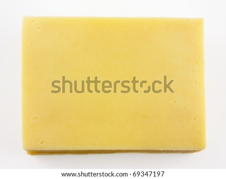 Stack of Sliced Cheese