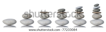 Stack of Stones - stock photo