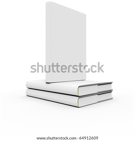 Stack of two books with single book on top