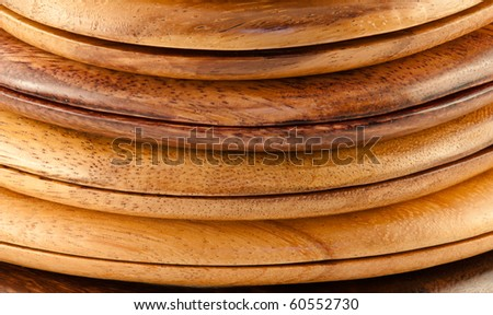 stack of wood ring