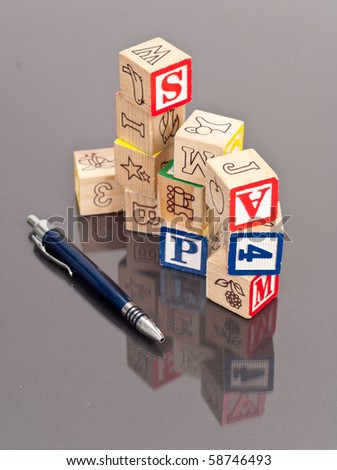 Stacked Learning Blocks with Pen