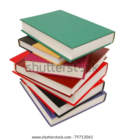 stacking of high level books