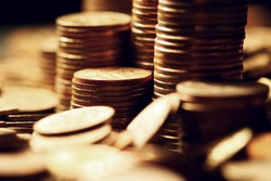 Stacks and heaps of coins