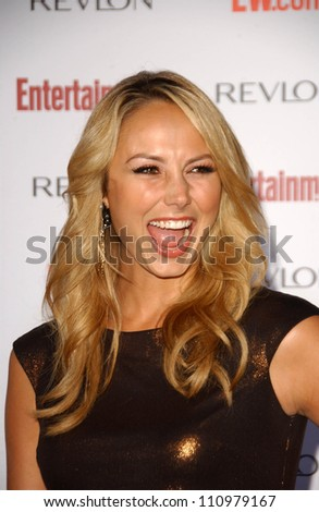 Stacy Keibler  at Entertainment Weekly's 5th Annual Pre-Emmy Party. Opera and Crimson, Hollywood, CA. 09-15-07