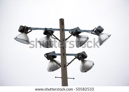 stadium lamp post electricity industry