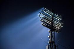 Stadium lights at an sport arena stadium