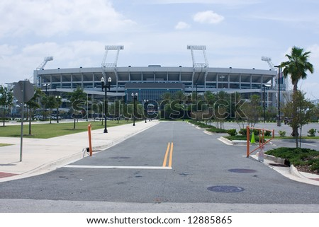 stadium near downtown Jacksonville, Florida