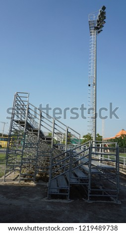 Stadium seating or Stands