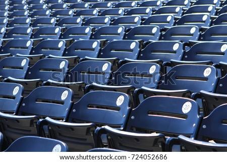 Stadium seats - background