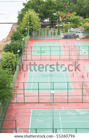 stadium tennis in the park,sport of relax