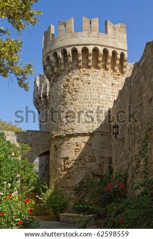Stadtmauer von Rhodos