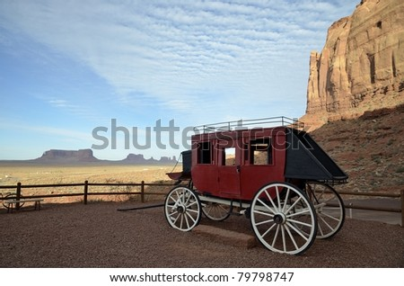 Stage Coach, Monument Valley
