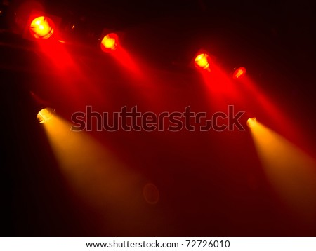 Stage/Concert lights - stock photo