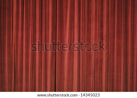 theater curtain clip art. stock photo : Stage Curtain