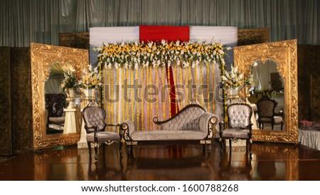 Stage Decoration Wedding Event Management.