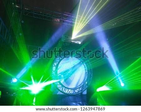 Stage lighting rendering effect #1263947869