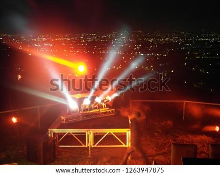 Stage lighting rendering effect #1263947875