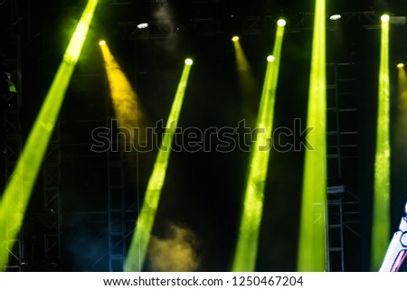 Stage spotlight stage spotlight #1250467204