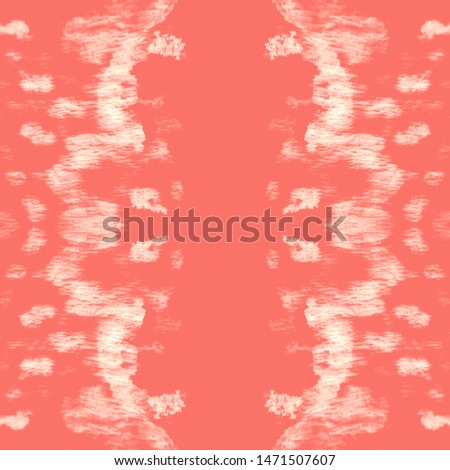 Stain seamless pattern. Seamless watercolor print. Colorful geometric background. Vintage rustic ornament. Infinite hippie texture. Coral, red stain seamless pattern.