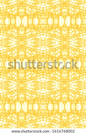 Stain Seamless Pattern. Seamless Watercolor Print. Traditional Japanese Wave Style. Infinite Abstract Canvas. Vintage Abstract Ornament. White,Gold Cool Stain Seamless Pattern.